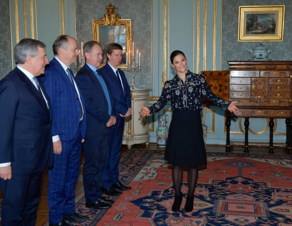 The Princess of Sweden stuns in affordable blouse