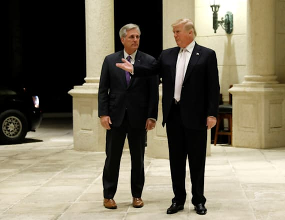 Top Republican gave Trump a jar of Starburst candies