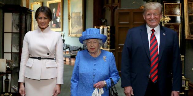La Regina Elisabetta ha inviato un messaggio in codice a Tru