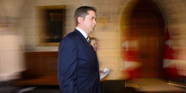 Le chef du Parti conservateur du Canada, Andrew Scheer.