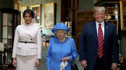 La Regina Elisabetta ha inviato un messaggio in codice a Trump con le sue spille? (Assolutamente