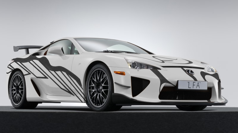 Lexus LFA art car to join the RC F GT3 this weekend at Spa - Autoblog