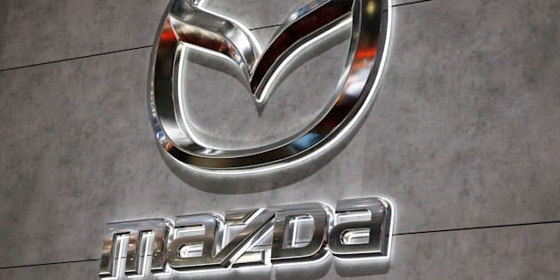 A Mazda logo is displayed at the 89th Geneva International Motor Show in Geneva, Switzerland March 5, 2019.  REUTERS/Pierre Albouy