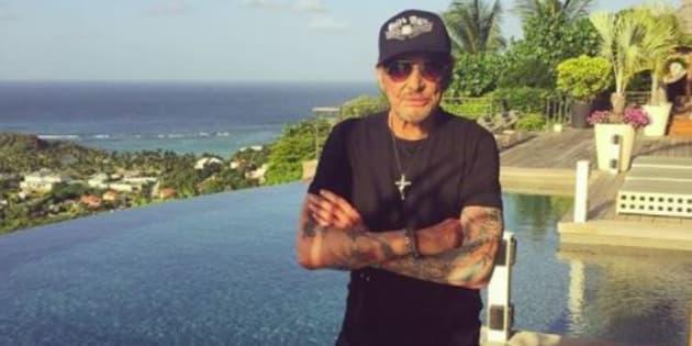 """Johnny Hallyday annonce une nouvelle tournée """"rock and blues"""" en 2018."""