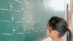 Una niña triunfa con su genial y lógica respuesta a este problema