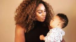 Cette comparaison entre un bébé et un avion par Serena Williams parlera aux