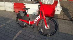 Voici Jump, le vélo électrique d'Uber qui veut concurrencer Vélib' dès