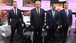 Peña, 'el presidente incómodo', y los pactos secretos dominan el tercer debate