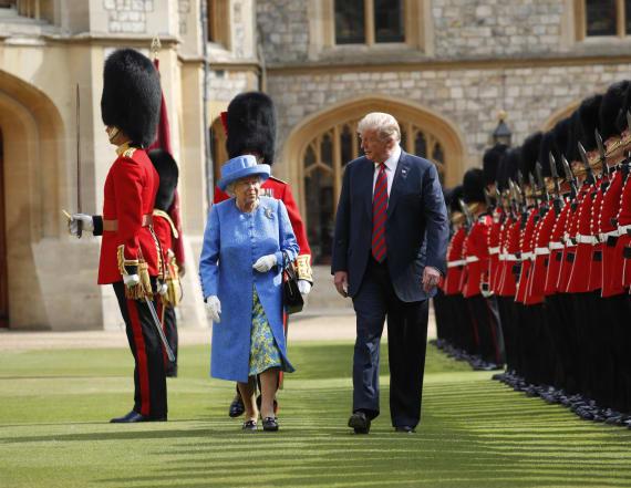 Trump accepts rare invitation from Queen Elizabeth