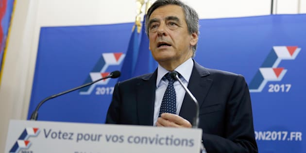 Francois Fillon pourrait faire face à Marine Le Pen au second tour de l'élection présidentielle 2017 (illustration)
