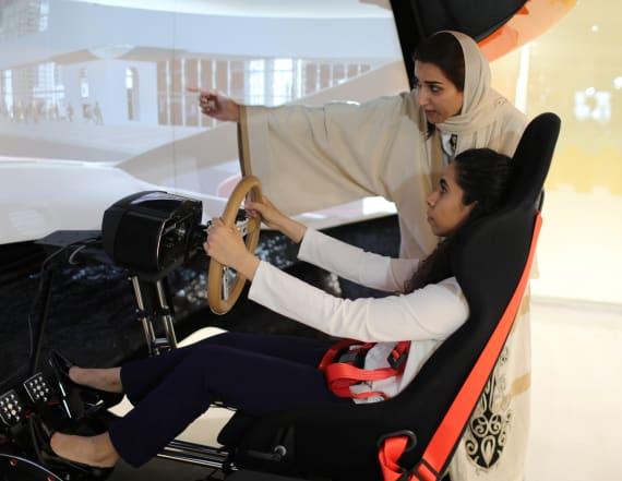 Saudi Arabian women gear up to drive