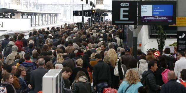 Le premier jour de grève SNCF, mardi noir en vue pour les usagers