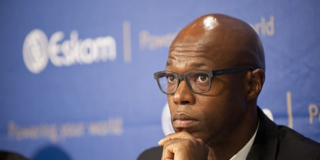 Matshela Koko is removed from Eskom with immediate effect.