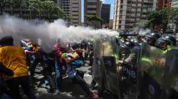 Oposición venezolana convoca a protesta en Caracas, el gobierno los recibe con gas