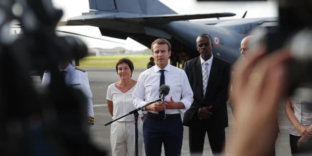 Autres: Après la Martinique, Macron arrive en Guadeloupe pour évoquer les sargasses
