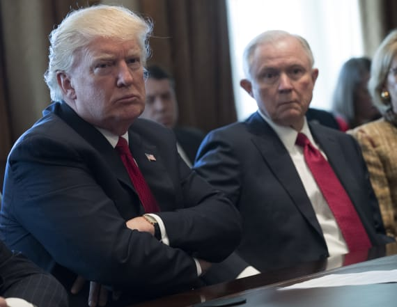Report: Trump, Sessions no longer on speaking terms