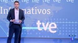 Sucede algo inexplicable en pleno directo del Telediario de TVE: fíjate bien en la
