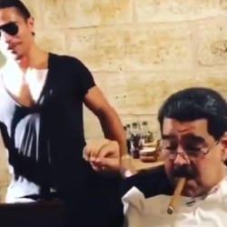 Infraganti: Cachan a Nicolás Maduro cenando jugosos filetes en restaurante de