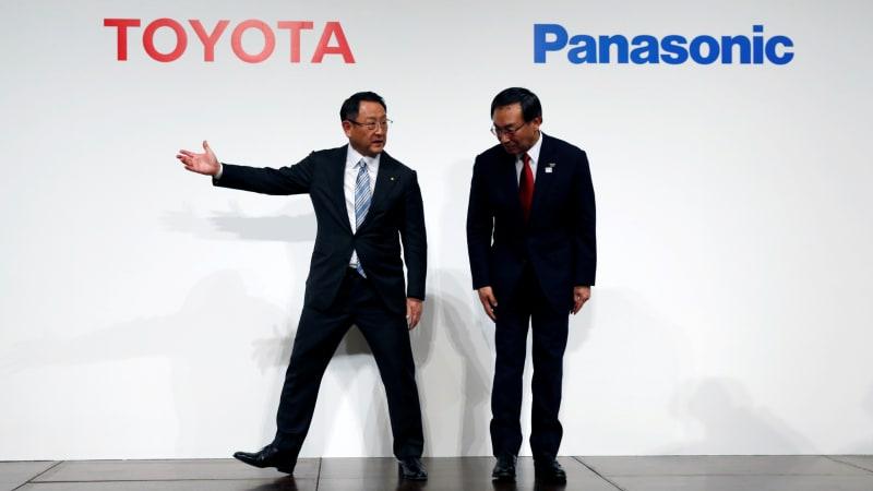 Toyota, Panasonic announce big EV battery joint venture