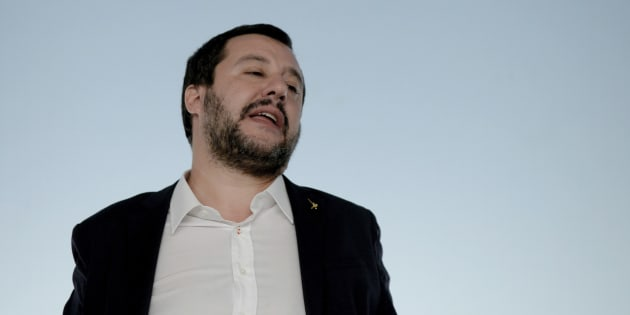 ROME, ITALY - OCTOBER 20:  Deputy Prime Minister Matteo Salvini during a press conference at the end of the Council of Ministers on the Economic Balance Sheet, on October 20, 2018 in Rome, Italy. (Photo by Simona Granati - Corbis/Getty Images)