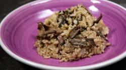 Prepara arroz con boletus en poco tiempo y con pocos