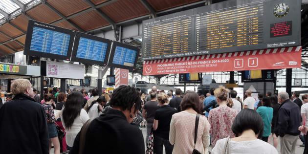 Grève à la SNCF ce jeudi 2 février 2017.