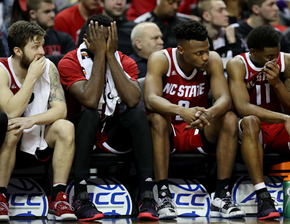 NC State upset it didn't make NCAA tournament