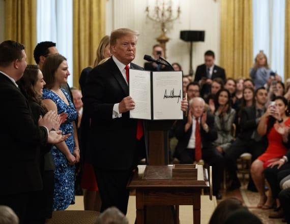 New Trump exec. order targets campus free speech war