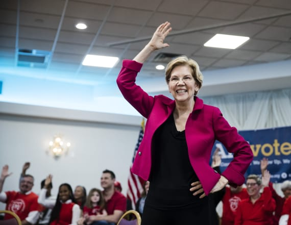 Warren wins over comedian with Twitter quip