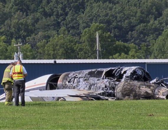 Earnhardt Jr.'s plane 'bounced' during crash-landing