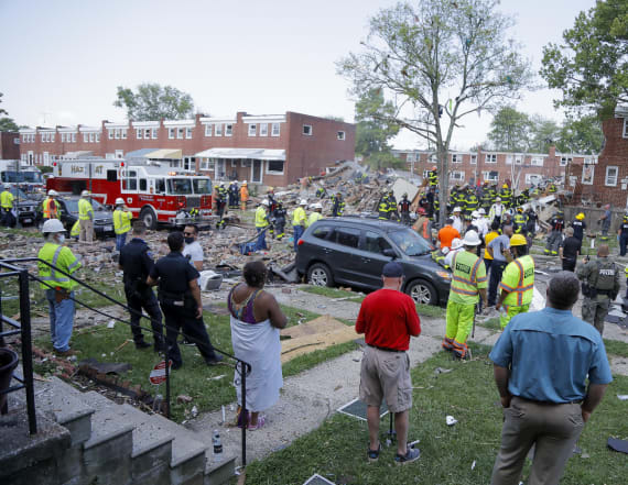 Death toll rises from Baltimore gas explosion