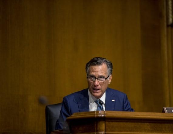 All eyes on Mitt Romney as SCOTUS battle begins
