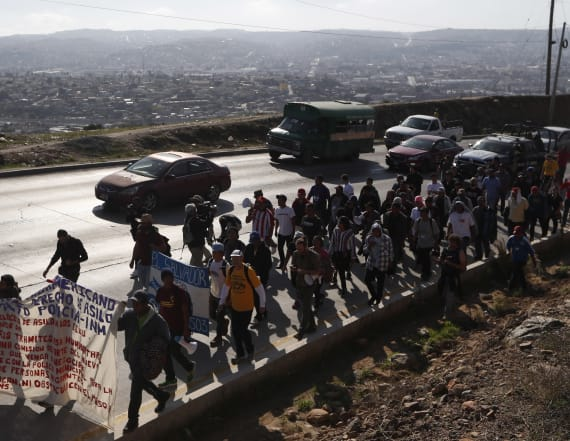 Migrants to U.S.: Let us in or give us each $50K