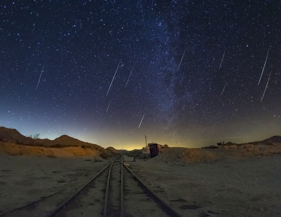 Spectacular meteor shower peaks this week