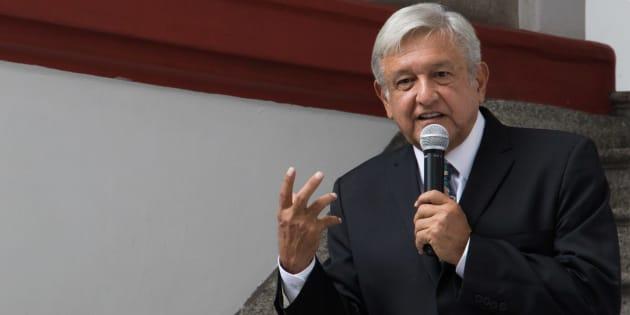 Andrés Manuel López Obrador, ganador de las elecciones presienciales, ofreció una conferencia de prensa en su casa de transición  donde respondió diversas preguntas de periodistas.