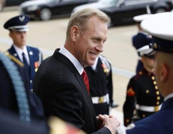 Acting Defense Secretary Shanahan steps down