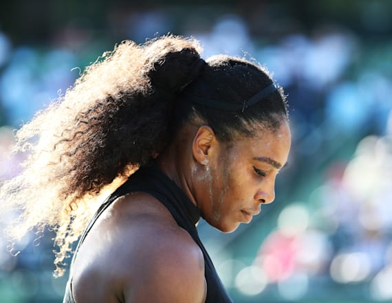 Serena Williams upset in first round of Miami Open