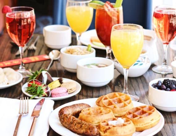 Enjoy these brunch cocktails over Easter weekend