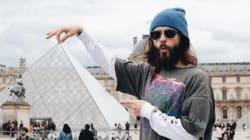 Jared Leto a réussi à prendre la photo que tous les touristes à Paris veulent