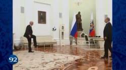 Poutine jongle avec le président de la FIFA (et plein d'autres