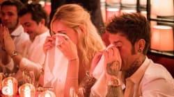 Ferragni e Fedez in lacrime al party pre-matrimonio per una ragione