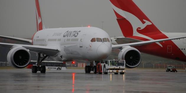 """Premier vol direct sans escale entre l'Australie et l'Europe, """"historique"""""""