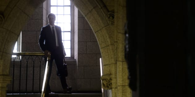 Prime Minister Justin Trudeau makes his way to the House of Commons on Parliament Hill in Ottawa on Oct. 29, 2018.