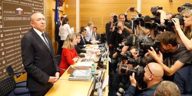 Revivez l'audition de Gérard Collomb à l'Assemblée sur l'affaire Benalla.
