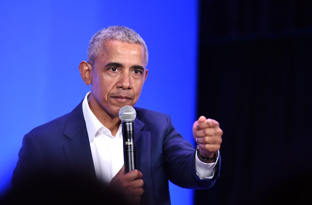 Barack Obama talks about toxic masculinity and 'being a man' - AOL News