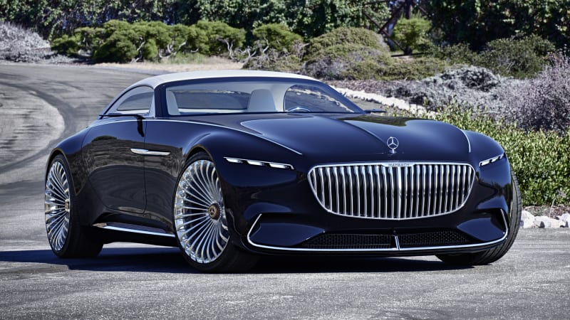 Vision Mercedes-Maybach 6 Cabriolet is last year's