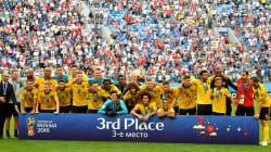 📷 Bélgica conquista el tercer lugar del Mundial de