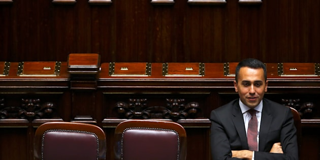 Italian Minister of Labor and Industry Luigi Di Maio attends during his first session at the Lower House of the Parliament in Rome, Italy, June 6, 2018. REUTERS/Tony Gentile