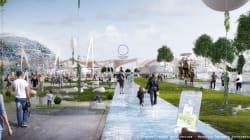 Village global, les images du projet de la France pour l'exposition universelle de