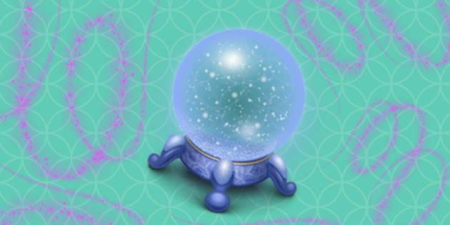 Please be good news, crystal ball.